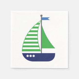 Guardanapo do veleiro