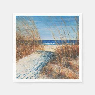 Guardanapo litorais da arte | da praia das dunas