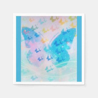 Guardanapo nebulosos da borboleta