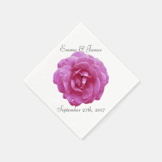 Guardanapo - papel - rosa escuro do rosa