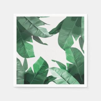 Guardanapo tropicais do impressão da palma