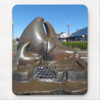 Guardiães de SF da escultura Mousepad da porta