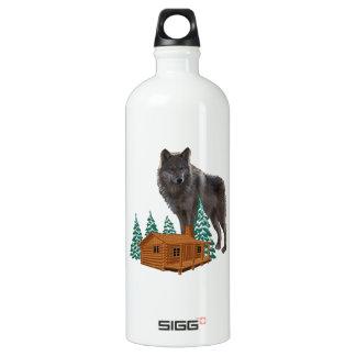 Guardião da noite garrafa d'água de alumínio