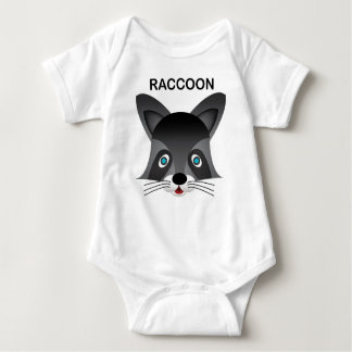 Guaxinim - Bodysuit do jérsei do bebê Tshirts