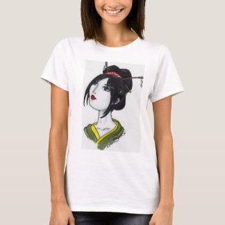 gueixa camiseta