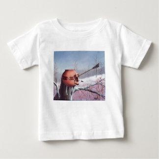 Guerra do inverno camiseta para bebê