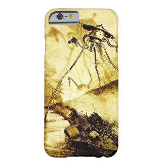 Guerra do tripé dos mundos - caso marciano da capa barely there para iPhone 6