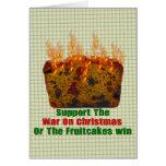 Guerra em Fruitcakes Cartoes