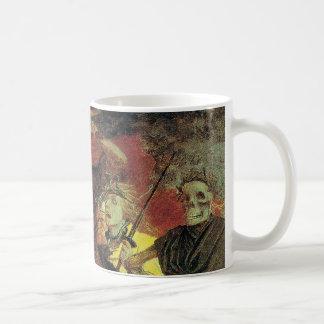 Guerra por Arnold Bocklin, belas artes do Caneca De Café