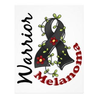 Guerreiro 15 da melanoma panfleto coloridos