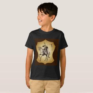 Guerreiro antigo do cavaleiro do t-shirt do Hanes Camiseta
