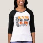 Guerreiro da esclerose múltipla tshirt