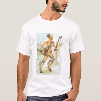 Guerreiro do Mohawk Camiseta
