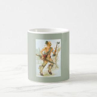 Guerreiro do Mohawk Caneca De Café