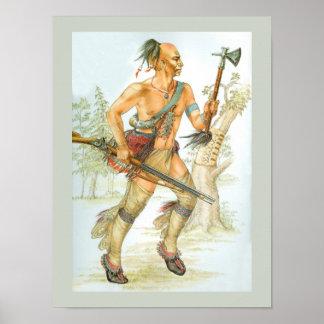 Guerreiro do Mohawk Pôster