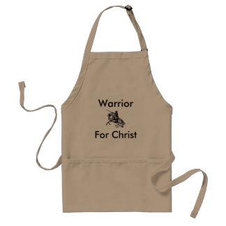 Guerreiro masculino para o avental do cristo