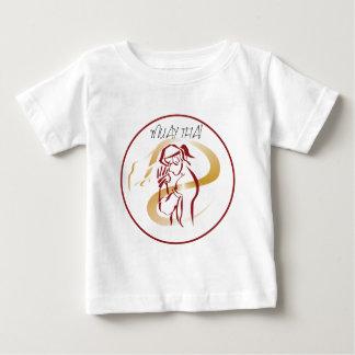 guerreiro muay thai camiseta para bebê