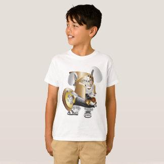 Guerreiro romano do rato do t-shirt do Hanes Camiseta