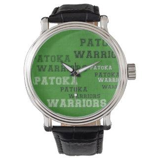 Guerreiros de Patoka Relógio