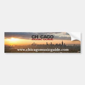 Guia Bumpersticker da música de Chicago Adesivo Para Carro