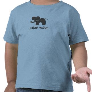 Guia do safari Elefante Tshirt