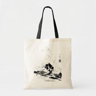 Guia japonês do rio sacola tote budget