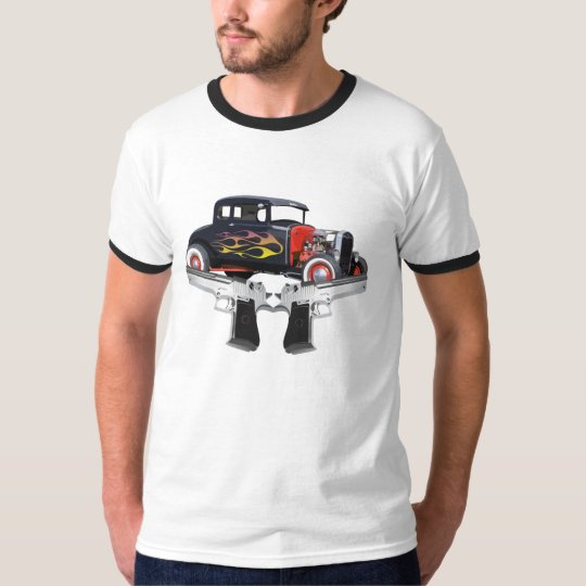 guilty hot rod camiseta