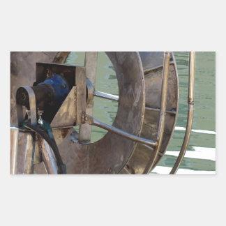 Guincho do Trawl Adesivo Retangular