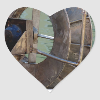 Guincho do Trawl Adesivo Coração