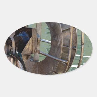 Guincho do Trawl Adesivo Oval