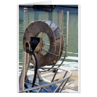 Guincho do Trawl Cartão Comemorativo