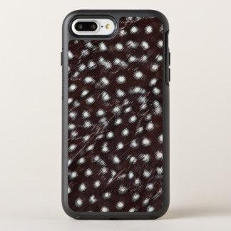Guineafowl manchou o abstrato da pena capa para iPhone 8 plus/7 plus OtterBox symmetry