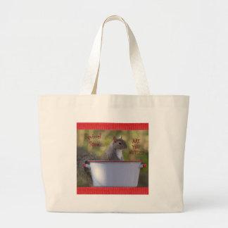 Guisado do esquilo… É VOCÊ LOUCOS?!? Bolsas Para Compras