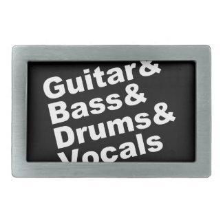 Guitar&Bass&Drums&Vocals (branco)