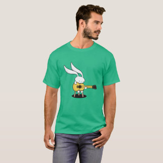 Guitar Rabbit Camiseta