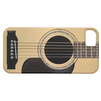 Guitarra acústica capa barely there para iPhone 5