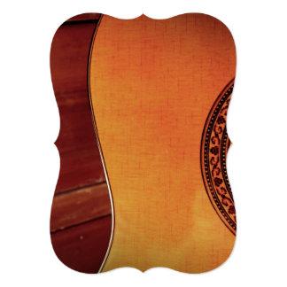 Guitarra acústica convite personalizados