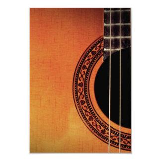 Guitarra acústica convites