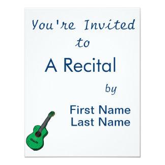 guitarra acústica green.png simples gráfico convites