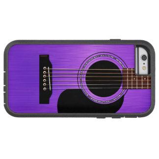 Guitarra acústica roxa capa iPhone 6 tough xtreme