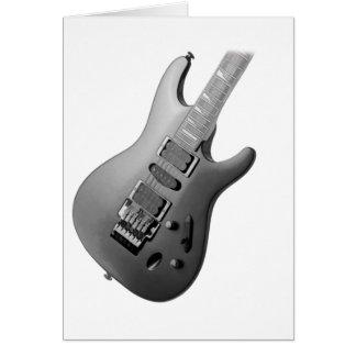 Guitarra Cartão Comemorativo