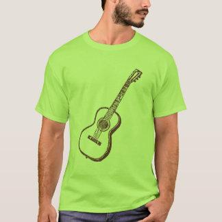 Guitarra clássica acústica de Brown Camiseta