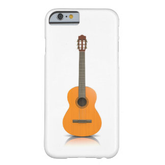 Guitarra clássica da capa de telefone