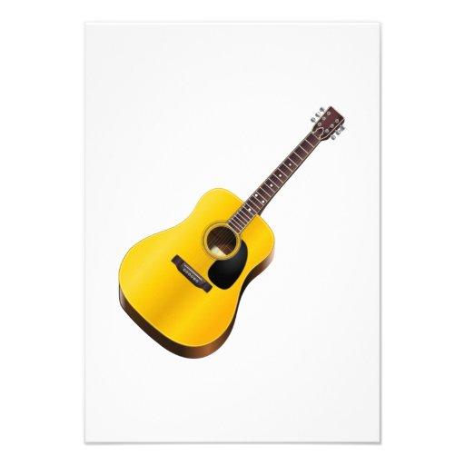 Guitarra Convite Personalizados
