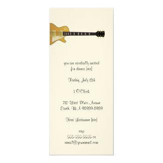 Guitarra Convite 10.16 X 23.49cm