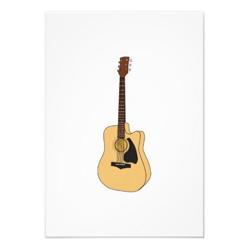 Guitarra Convite Personalizado
