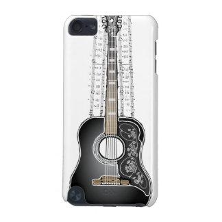 Guitarra do vintage com partitura - capa do ipod