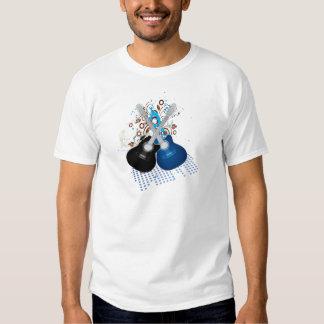 Guitarra duplas t-shirts