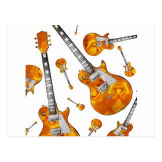 Guitarra elétrica 09.jpg cartão postal