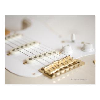 Guitarra elétrica 11 cartão postal